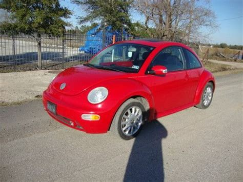 how to sell used cars 2005 volkswagen new beetle on board diagnostic system sell used 2005 vw beetle tdi diesel 117k mile automatic no reserve in houston texas united
