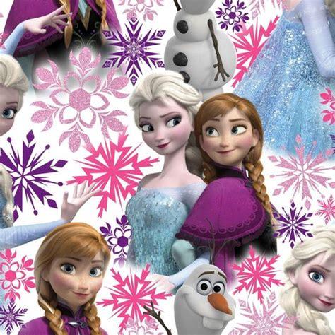 Frozen Wallpaper Homebase | frozen anna elsa and olaf pink shimmer wallpaper