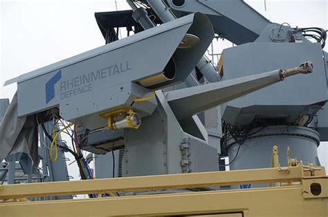 pattern energy revolver rheinmetall conducts sea trials of a naval laser gun