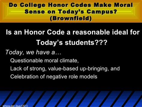 Smu Mba Honor Code by Ethics
