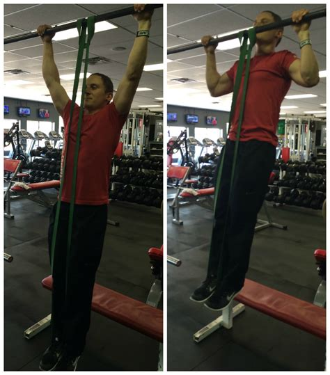 Pull Up Resistance Band Fitness of the month resistance band pull ups and assisted dips complete fitness