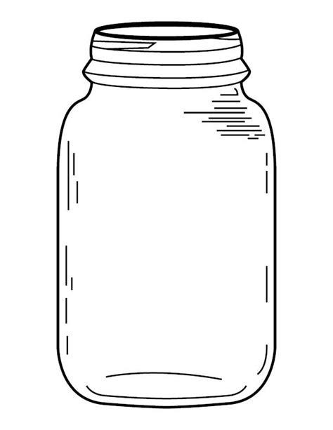 template of jar jar coloring page