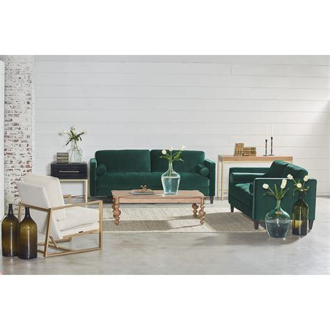 joanna gaines sectional sofas dapper sofa with tufted bench seat by magnolia home by