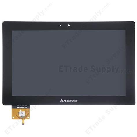 Lcd Touchscreen Lenovo A859 Original Fullsett oem lenovo ideatab s6000 lcd screen and digitizer assembly black etrade supply