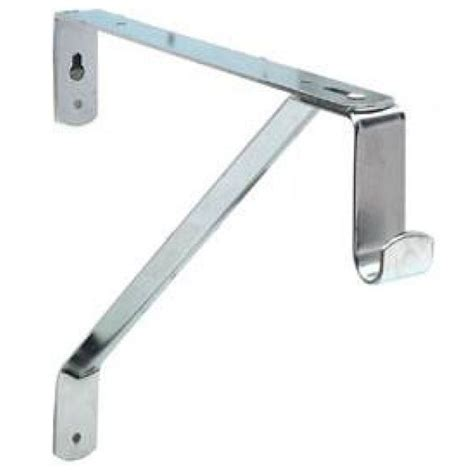 Closet Shelf Brackets And Rods by Oval Closet Rod And Shelf Support Bracket In Closet Rods