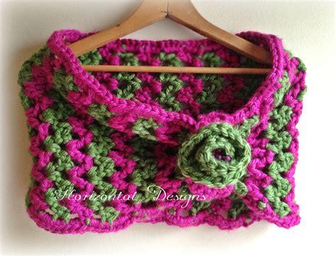 zig zag cowl crochet pattern studio create free crochet pattern watermelon cowl