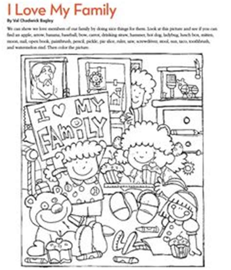 loving family coloring page 1000 images about lds nursery on pinterest lds