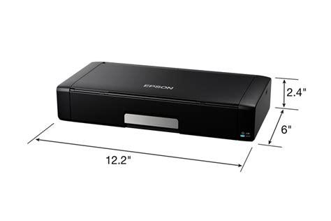 Printer Portable Epson epson workforce wf 100 mobile printer inkjet printers
