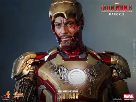 Toys Ironman Iii toys releases iron 3 1 6 scale xlii figure images