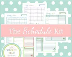 home free schedule printable daily appointment scheduler calendar template 2016