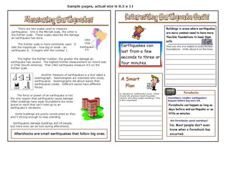 earthquake worksheets all worksheets 187 volcanoes and earthquakes worksheets
