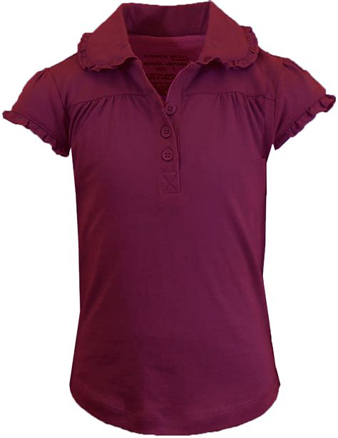Gendongan Bayigeos Polos Maroon Size S wholesale s burgundy sleeve polo with scallop collar sizes 7 16 sku 2273560
