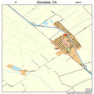 gonzales california map 0630392