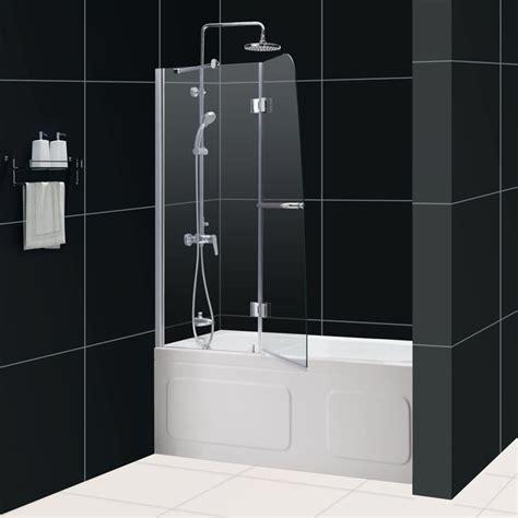 Shower Door For Bathtub by Aqua Tub Door Frosted Glass Bathtub Door Dreamline