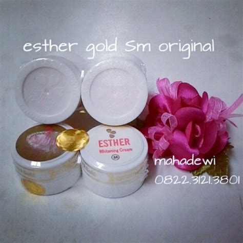 Pelembab Esther esther gold list mahadewi shop quot esther original taiwan quot