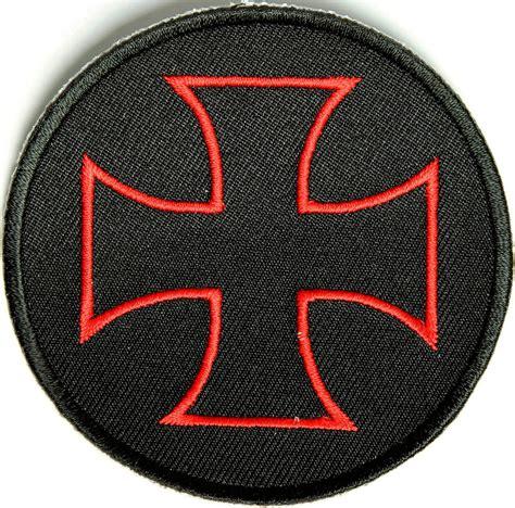 iron on iron cross patch