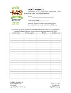 Donation List Template 8 Best Images Of Donation List Template Printable Free