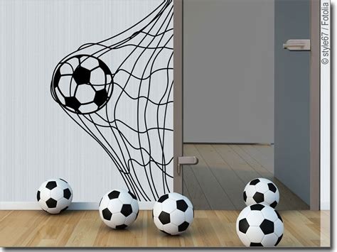 Wandtattoo Kinderzimmer Junge Fussball by Wandaufkleber Fu 223 Als Deko F 252 Rs Kinderzimmer