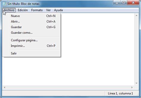 imagenes html bloc de notas bloc de notas curso de inform 225 tica b 225 sica