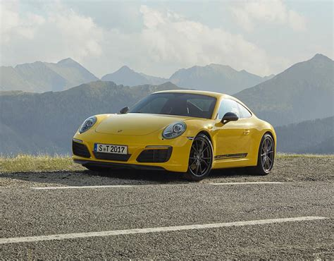 Porsche Carrera Pictures by Porsche Carrera T 2017 Revealed In Pictures Pictures