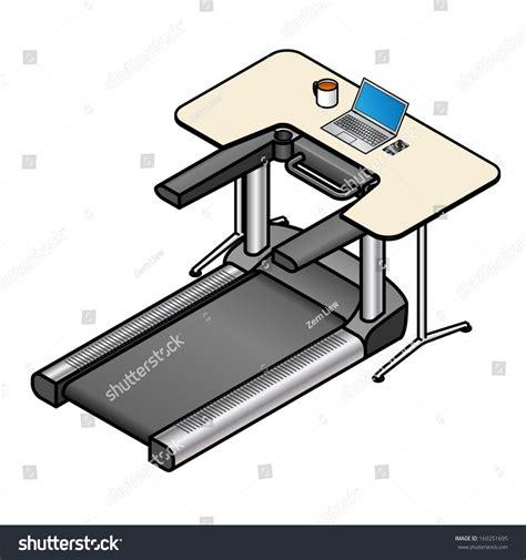 walking laptop desk a walking desk office desk with a treadmill installed