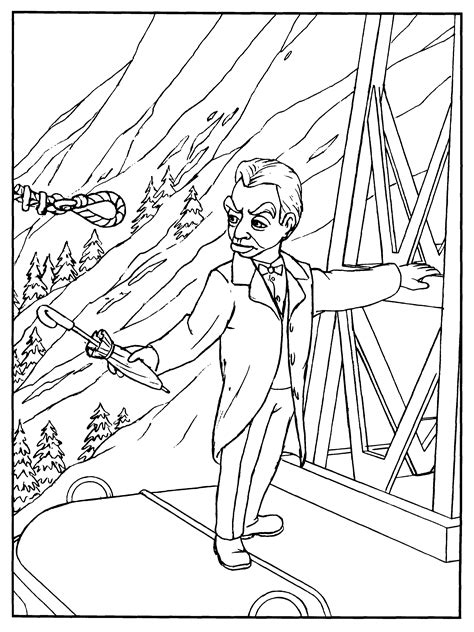 thunderbird template thunderbird 1 coloring coloring pages