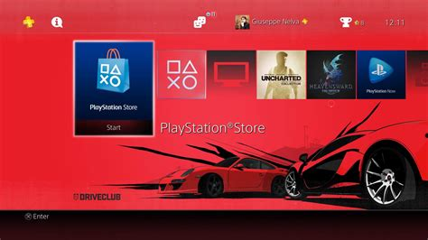 ps4 themes christmas free driveclub ps4 theme and festive playstation plus