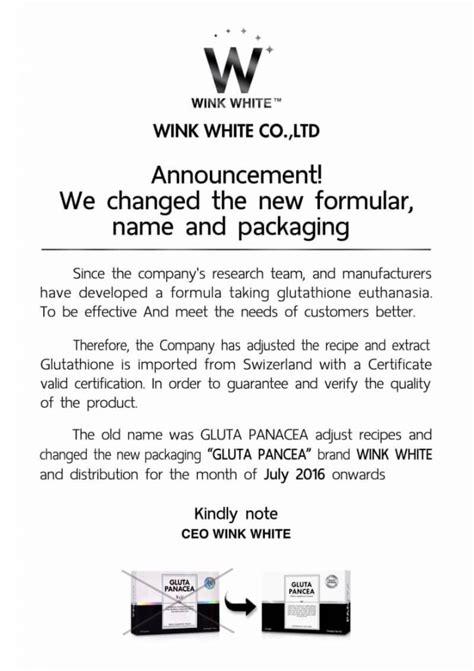 Pasaran Gluta Panacea Malaysia gluta pancea wink white original dietary supplement