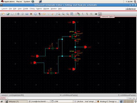 inverter layout design using cadence cannot get the vtc curve of inverter in cadence for my ckt
