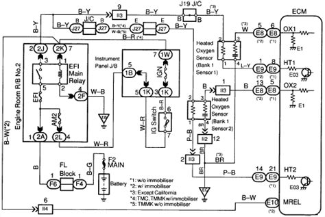 1998 toyota camry with 2 2 motor have a code of po1133