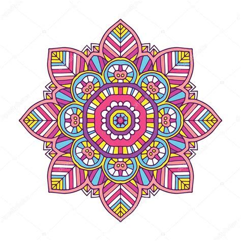 imagenes de mandalas florales mandala de flores color archivo im 225 genes vectoriales