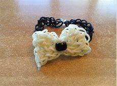 Rainbow loom bow bracelet | Crafts | Pinterest Rainbow Loom Bow Tie Bracelet