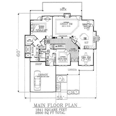 2800 sq ft house plans farmhouse style house plan 5 beds 3 baths 2800 sq ft