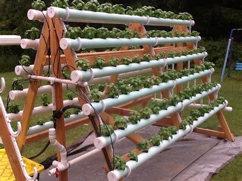 diy vertical pvc planter home design garden