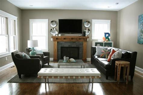 living room furniture layout ideas with fireplace 15 cozy living rooms with fireplaces