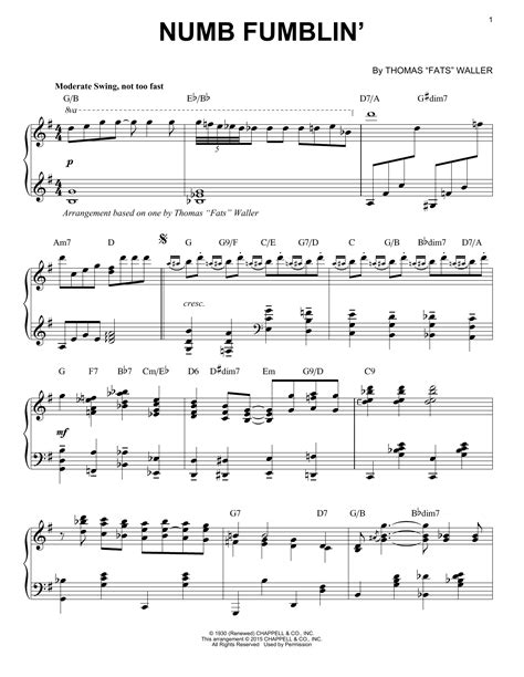 how to play comfortably numb on piano numb fumblin sheet music direct