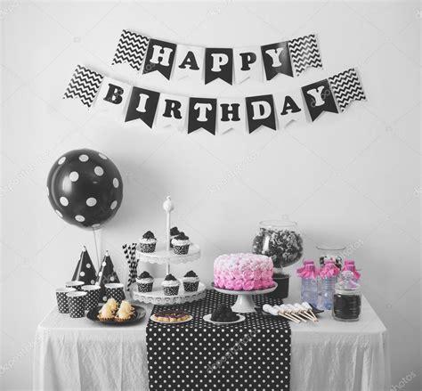 imagenes blanco y negro de cumpleaños decoraci 243 n de fiesta de cumplea 241 os blanco y negro fotos