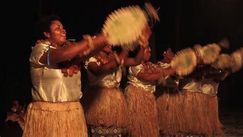 hd stock video footage two women flaunt tradition and indigenous fijian women dancing the traditional meke