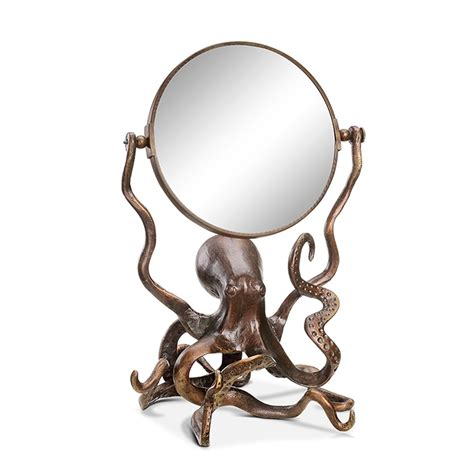 Kitchen Canisters Glass Spi Octopus Vanity Mirror 34237