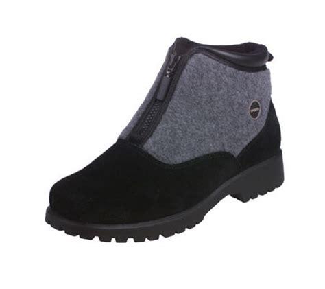 sporto boots reviews sporto waterproof suede fleece zipfront boots page 1