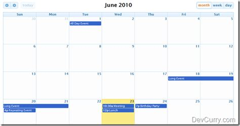 calendar layout js 5 jquery calendar plugins that can be used on websites