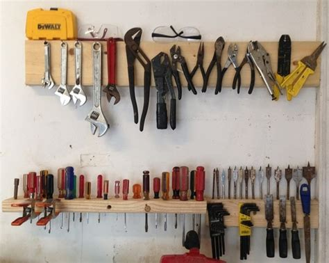 Kitchen Cabinet Hardware by 6 Simple Diy Garage Storage Solutions You Can Do Today