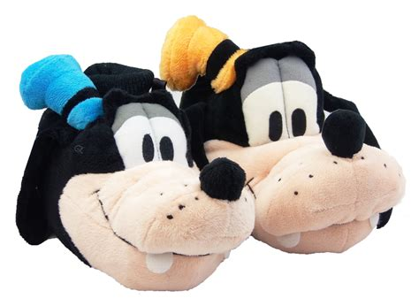 disney house shoes new kids official disney goofy comfy soft slippers size 5 6 7 8 9 10 11 12 13 1 ebay
