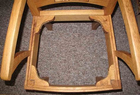 wooden chair corner braces do i need stretchers and corner braces woodworking