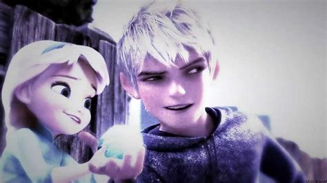 imagenes jack frost y elsa the last time elsa jack frost youtube
