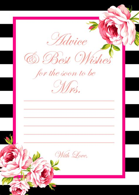 bridal shower advice game printable 2 free printable games archives bridal shower ideas themes