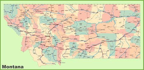 usa montana map map of montana afputra