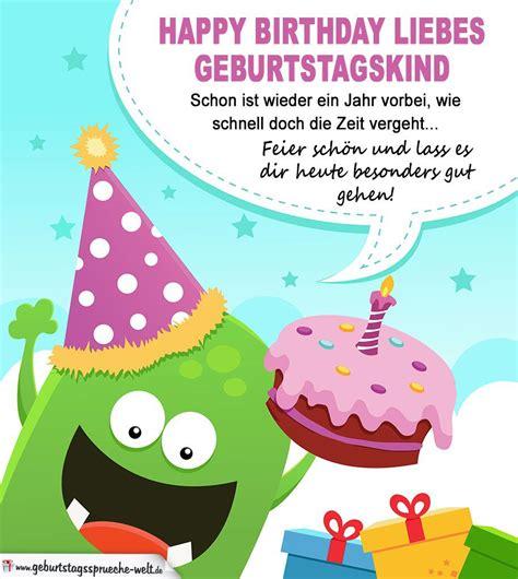Geburtstag Kinder Bilder by Geburtstagsw 252 Nsche F 252 R Kinder Geburtstags Ideen