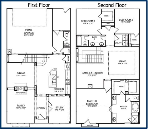 two story house plans with garage barndominium floor plans with garage in stunning