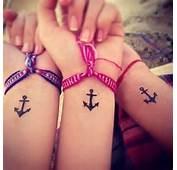 Sisters Anchor Tattoo Car Tuning